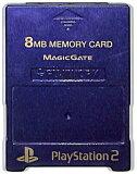 PS2 内存卡【8MB】MAJICGATE制(紫色)【中古】[PS2 メモリーカード【8MB】 MAJICGATE製 (紫)【中古】]