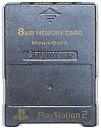 PS2 メモリーカード【8MB】 MAJICGATE製 (ガンメタリック)プレステ2【中古】