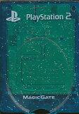 PS2 メモリーカード【8MB】 MAJICGATE KOTOBUKI製 (クリアブルー)【中古】
