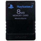 PS2 SONY純正 メモリーカード【8MB】 (ブラック)【中古】