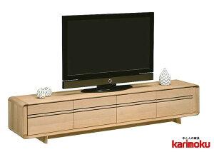 カリモク QU8107 テレビ台 大型液晶LED対応 TVボード