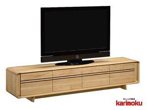 カリモク QU7107 テレビ台 大型液晶LED対応 TVボード
