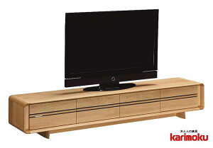 カリモク QU8108 テレビ台 大型液晶LED対応 TVボード