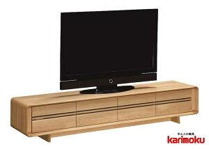 カリモク QU7108 テレビ台 大型液晶LED対応 TVボード