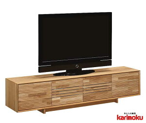 カリモク QT8017 テレビ台 大型液晶LED対応 TVボード