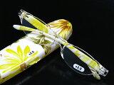 【】【代引きの場合は送料有料】カラフル老眼鏡【花柄プリント老眼鏡 TP-1744】携帯用リーディンググラス
