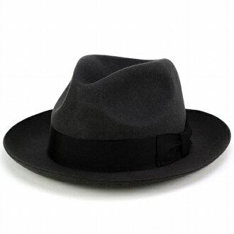 帽子的男人的帽子 / 帽帽子 / 羊毛 / 羊毛 / 感覺 / 蓋體 / 婦女 / 灰色 /FUJI 帽子 / 富士帽子 (邊緣寬秋/冬秋冬季商品帽帽和成人休閒時尚領寬帽子甚而帽子毛氈的羊毛帽子趨勢秋冬季)