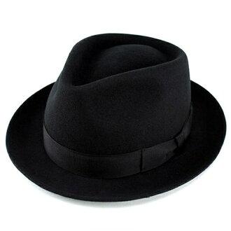 甚而帽子 / 羊毛 / 黑色 / 氊帽 / commot / 帽帽子/黑色男士身體/富士 / 婦女 / 甚而 /FUJI 帽子 (愛上秋冬季商品帽帽和成人休閒時尚帽子滴淚帽子感到秋天冬天的羊毛帽子趨勢)