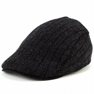 針織的帽男裝生產了 borsalino 帽條紋生產了 borsalino 帽子秋天的冬裝時尚一刀切針織黑色 (狩獵帽子時尚帽子的膀胱和狩獵帽子禮物) 常春藤帽