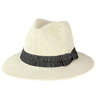 草編帽子男式紙帽子太陽帽子帽檐寬女士甚而帽子夏天大小可調白色 [草帽