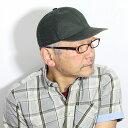 WIGENS キャップ メンズ 春 夏 涼しい 帽子 ウォッシュドリネン ウィゲーン ベースボールキャップ 大きいサイズ ビンテージ感 インポー..