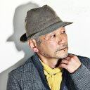 ハット ダックス 帽子 秋 冬 日本製 中折れハット メンズ DAKS 中折れ帽 紳士 サミア顔料 ヴィンテージ風 お洒落 ファッション ぼうし 56cm 58cm 60cm / ベージュ [ fedora ] 男性 プレゼント イギリス ブランド 帽子通販 誕生日 ギフト