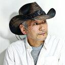 カリフォルニアハット カウボーイハット バンゴラ草 帽子 コロンビア製 星 デザイン ベルト ストローハット ヴィンテージ風 メンズ 麦わら帽子 日除け テンガロン ワイヤー入り 春夏 ウエスタン USブランド L XL / 黒 ブラック cowboy hat straw hat