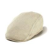 帽子/ハンチング/夏/Borsalino/麻ニットハンチング/ボルサリーノ/帽子/メンズ/帽子/レディース/ハンチング帽/オフホワイト/ハット/メンズハット/ 【楽ギフ包装】