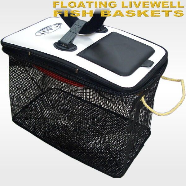 Enasquare store rakuten global market floating livewell for Live fish basket