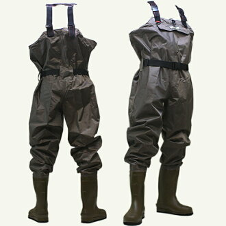 X ' SELL waders, felt chest high