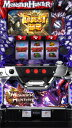 【エンターライズパチスロ モンスターハンター狂竜戦線◆コイン不要機セット◆パチスロ実機【中古】