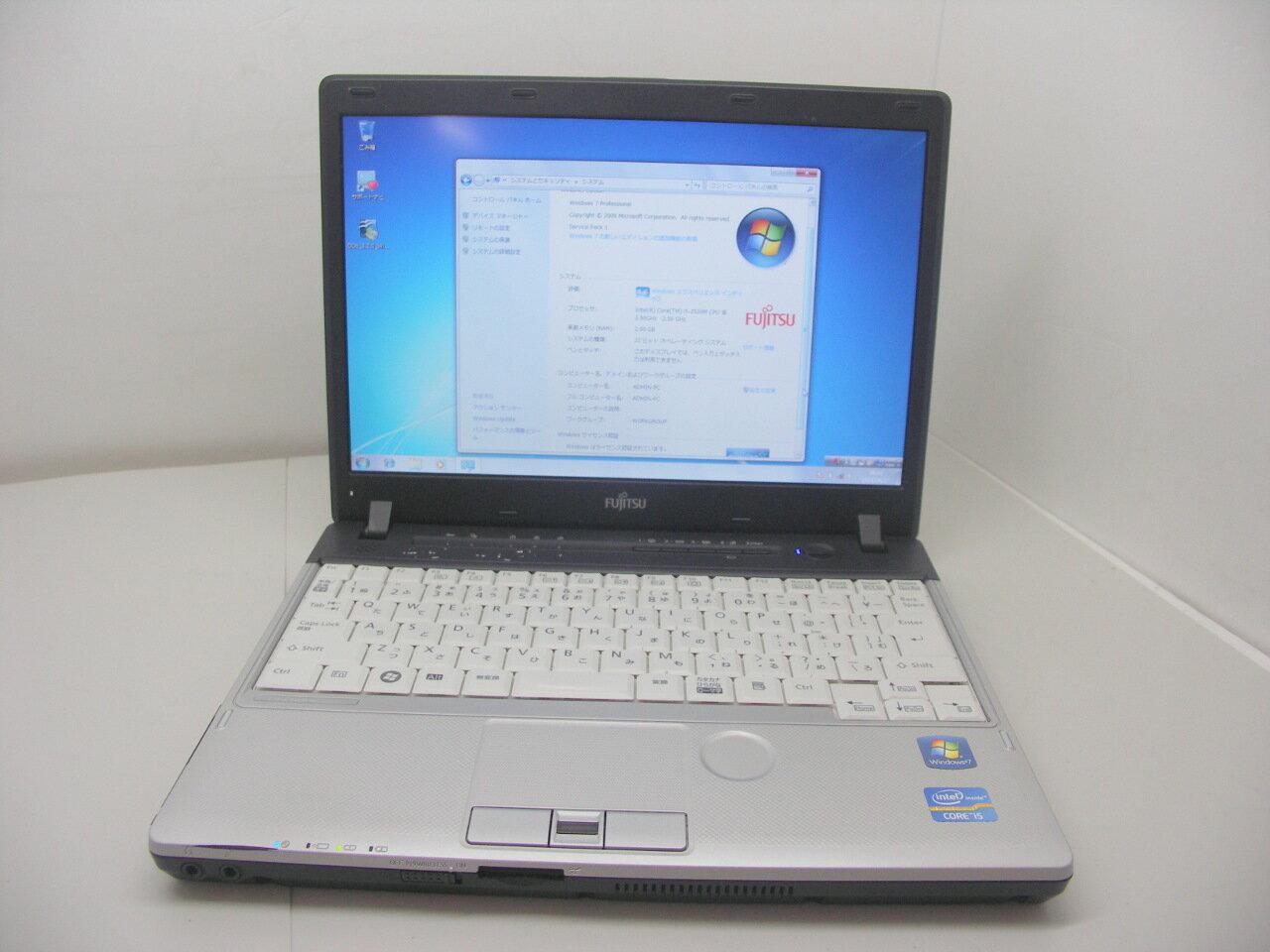 P20Feb16  Windows7搭載 P771/C Corei5 2520M 2.5GHz/2GB/160GB/無線LAN/マルチ【中古】【送料無料】【あす楽対応】