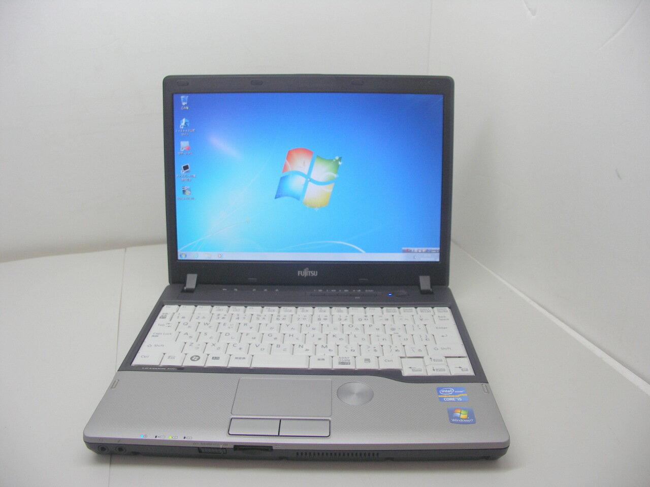 Windows7搭載 P772/E Corei5 3320M 2.6GHz/2GB/250GB/無線LAN/マルチ【中古】【送料無料】【あす楽対応】