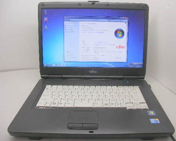 A6390 Core i3 2.1GHz 160GB DVD-RW Windows7 OFFICE ワイド画面【中古】【送料無料】【あす楽対応】【あす楽_土曜営業】【RCP】