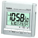 【カシオ 置き時計】 WAVE CEPTOR 電波時計 温度・湿度表示 【DQD-700J-8JF】 時計 置時計 お祝い プレゼント 卒業 新生活 入社 入学 贈り物 壁掛け デジタル クロック 置き時計