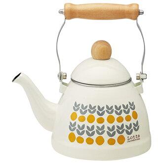恐怖水壺 1。 38 L 蘿塔 jansdotter 水壺搪瓷聖誕貢茶禮品動漫水壺表咖啡