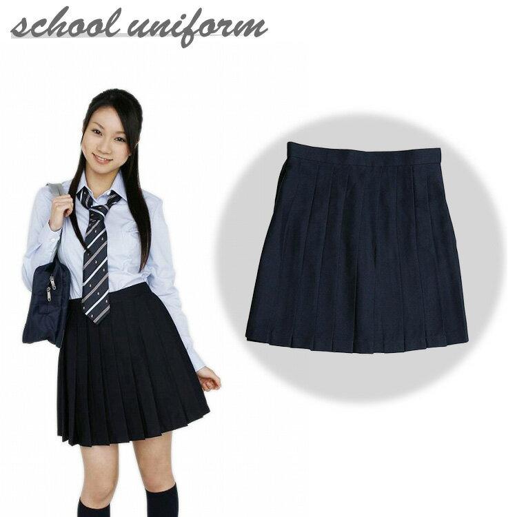 【高校生 中学 制服 通学】プリーツスカート ネ...の商品画像