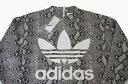 【新古品・未使用品】国内正規品 adidas(アディダス) Originals by HYKEHY (ハイク)CREW SWEAT Python/パイソン/スウエット/スエット(S)【中古】