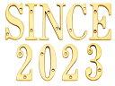 【ポイント最大25倍】 表札 真鍮切文字76シリーズ SIN