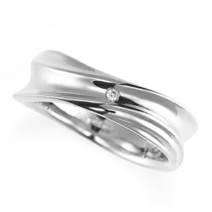 ペアリング(女性用) 結婚指輪 マリッジリング 結婚記念 プラチナ900 ダイヤモンドリング 《Nourish M0979L》 【刻印無料 ケース付き 送料無料】 【RCP】 【532P17Sep16】 高品質・ハイクォリティー