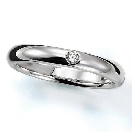 ペアリング(女性用) 結婚指輪 マリッジリング 結婚記念 プラチナ900 ダイヤモンドリング 《Prime M0016L》 【刻印無料 ケース付き 送料無料】 【RCP】 【532P17Sep16】