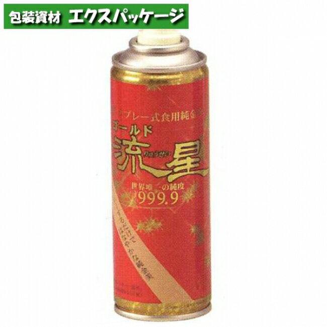 【池伝】ツキオカ 金粉スプレー 「ゴールド流星 大缶」 140ml 740149