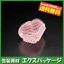 【スミ】ユニコン ハート2B W114 白に赤の格子柄 1200入 5HA2174 【ケース販売】
