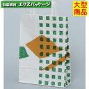 【パックタケヤマ】自動手提袋 平ヒモ H平227 洛西 XZT01000 200入 【ケース販売】