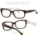 MAISON GILFY 渋谷109 メゾン ギルフィー メガネ Cute&Sexy MGF-609-1【コンビニ受取対応商品】【送料無料】