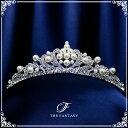 ティアラ 結婚式 キュービックジルコニア 王冠 ウエディング ティアラ ブライダル tiara 髪飾り ft9059plsr