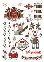 ショッピングラッシュ THE FANTASY タトゥーシール [3枚セット] クリスマス サンタ 雪だるま cr07【レギュラー】