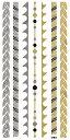 (ファンタジー) TheFantasy フラッシュタトゥー フラッシュタトゥーシール ブレスレット ghm065 【レギュラー・3枚セット】