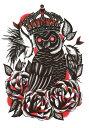 ショッピングラッシュ (ファンタジー) TheFantasy タトゥーシール タトゥーシール フクロウ hb673【中型・A5】