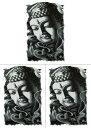 [THE FANTASY (ファンタジー)] タトゥーシール 釈迦 仏さま hb687[A5サイズ・3枚入り]
