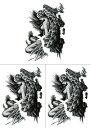 [THE FANTASY (ファンタジー)] タトゥーシール 天使 hb802[A5サイズ・3枚入り]