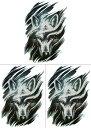ショッピングタトゥー [THE FANTASY (ファンタジー)] タトゥーシール 狼 hb846[A5サイズ・3枚入り]