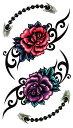 ショッピング薔薇 (ファンタジー) TheFantasy タトゥーシール タトゥーシール 薔薇 hm320【レギュラー】