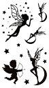 (ファンタジー) TheFantasy タトゥーシール タトゥーシール 羽毛ペン 文字 hm515 【レギュラー】