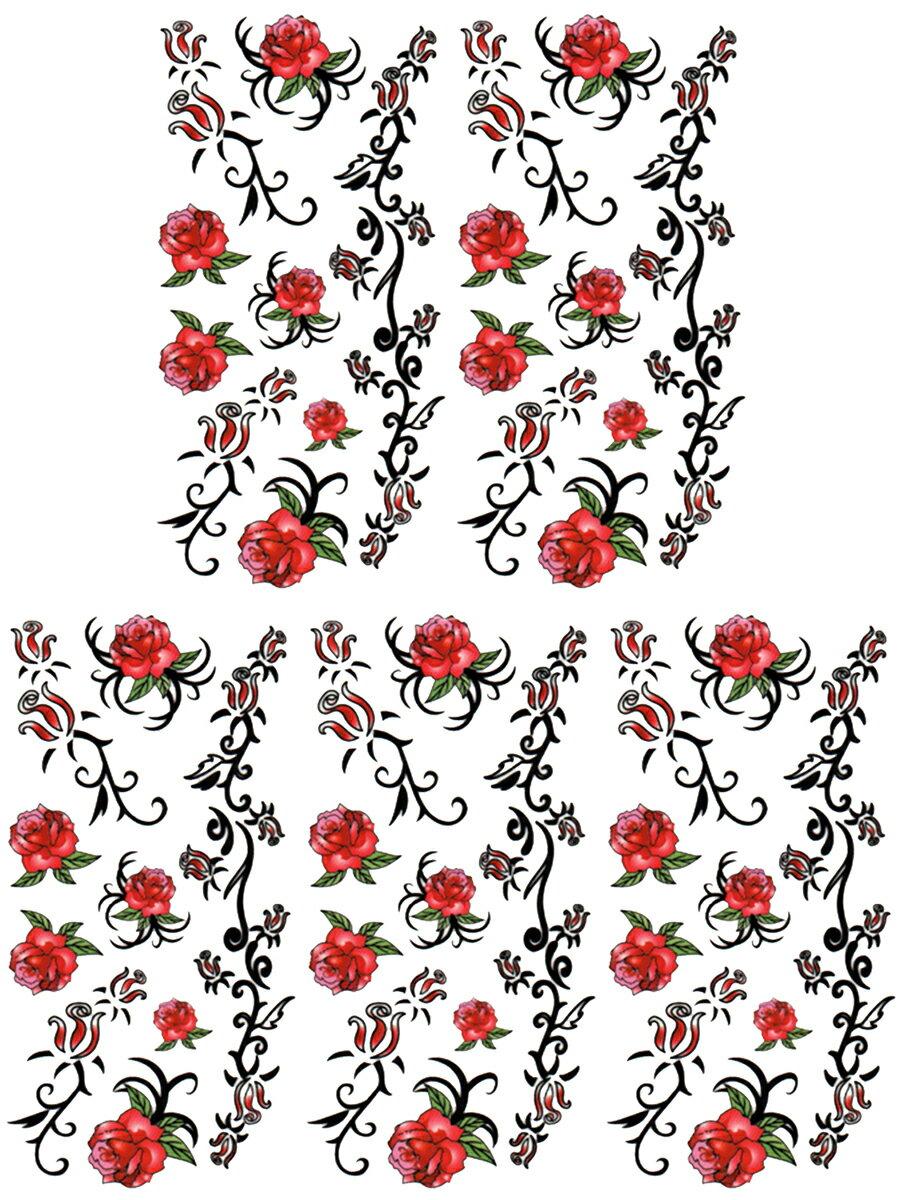 (ファンタジー) TheFantasy タトゥーシール タトゥーシール 薔薇 ht08043 【小型】