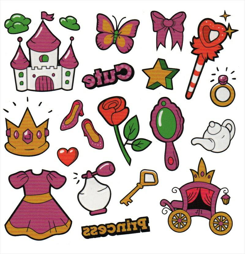 (ファンタジー) TheFantasy タトゥーシール タトゥーシール お子様用 かわいい ktta020007【小型】