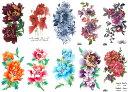 ショッピングタトゥー [THE FANTASY (ファンタジー)] タトゥーシール 花 [10種10枚]set053
