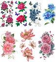 ショッピングタトゥー [THE FANTASY (ファンタジー)] タトゥーシール 花 [7種7枚]set056
