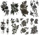 ショッピングタトゥー [THE FANTASY (ファンタジー)] タトゥーシール 薔薇 [8種8枚]set304