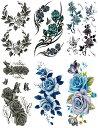 ショッピングタトゥー [THE FANTASY (ファンタジー)] タトゥーシール 薔薇 [6種6枚]set310